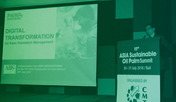 ABS Innovations Group Md, Douglas Tan Keynote Speaker At 10th Asia Sustainable Oil Palm